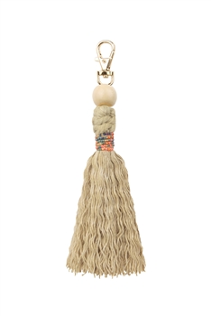 Tassel Key Chains K1123 - Camel