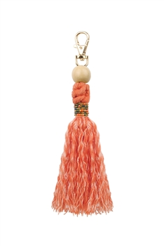 Tassel Key Chains K1123 - Orange