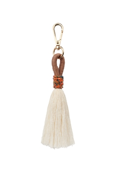 Tassel Key Chains K1124 - Brown