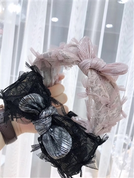 Lace Bow Headband L2307