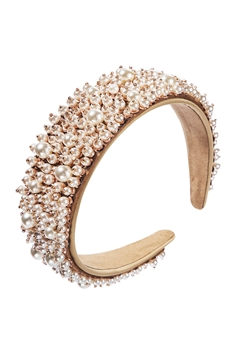 Baroque Style Pearl Hair Band L2348