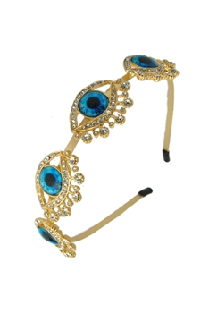 Alloy Against Evil Eye Headband L2403