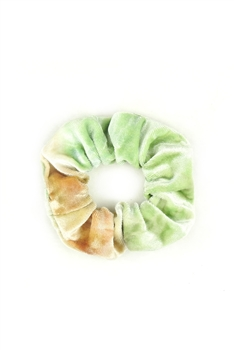 Tie-dye Hair Scrunchies L2416 - Green