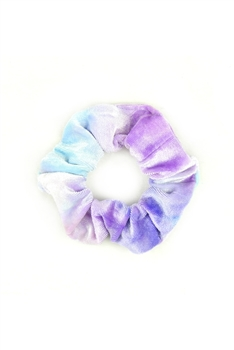 Tie-dye Hair Scrunchies L2416 - Purple