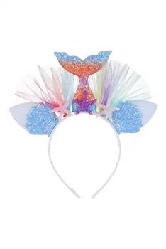 Rainbow Mermaid Headband L2567