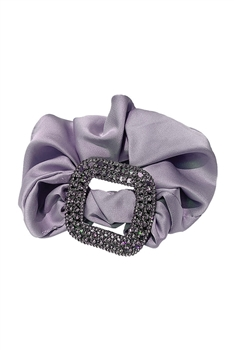 Rhinestone Buckle Hair Scrunchies L2683