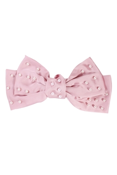 Bow Fabric Hair Clip L2693