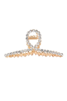 Alloy Cross Hairpin L2707 - Rhinestone