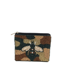 BEE Beaded Coin Purse LAC-CP-1003