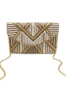 Party Partner Beaded Clutch LAC-SS-051