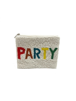 PARTY Beaded Coin Purse LAC-SS-173