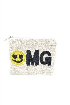OMG Smiley Face Coin Purse LAC-SS-175