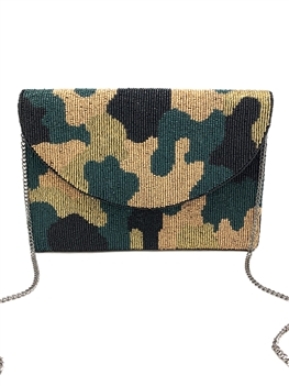 Camo Print Cluth Bag LAC-SS-7011