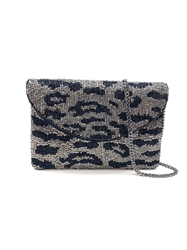 Mini Animal Print Clutch LMC-108