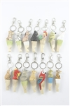 Wooden Animal Whistle Key Chain M0333