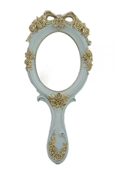 Baroque Style Mirror M0409 - Blue