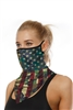 Printed Triangle Scarf Face Mask MASK-41 - NO.8