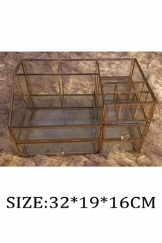 Cosmetic Glass Storage Rack MIS-4