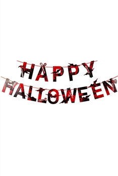 Halloween Banner Ornaments MIS0415