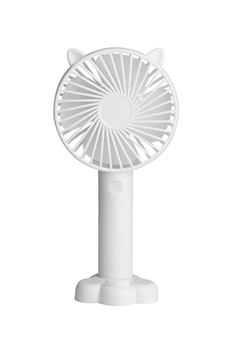 Cat Ears USB Mini Portable Fan MIS0438 - White