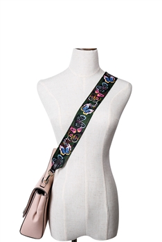Canvas Print Shoulder Strap MIS0440 - Green