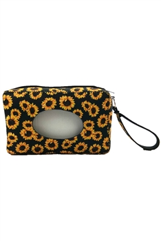 Animal Printed Tissue Box MIS0460 - Yellow