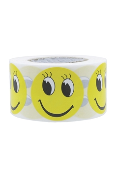 Smile Face Label Stickers MIS0462