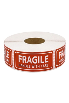 FRAGILE Label Stickers MIS0465