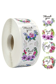 Floral Label Stickers MIS0466