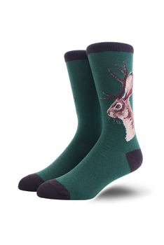 Flower Pattern Socks MIS0467-GREEN