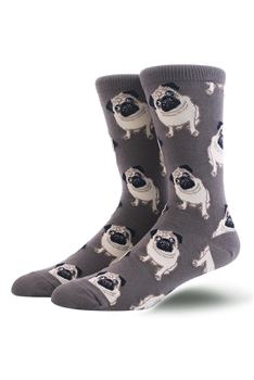 Flower Pattern Socks MIS0467-GREY