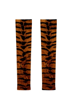 Animal Printed Arm Sleeve MIS0513 - Brown