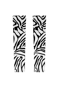 Animal Printed Arm Sleeve MIS0513 - White