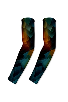 Printed Arm Sleeve MIS0514-L - Black