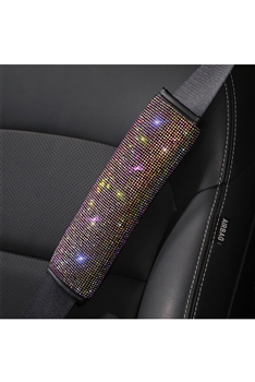 Rhinestone Seat Belt Shoulder Guard  MIS0532 - Multi