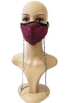 Multi-Color Beads Mask Holder MN2449
