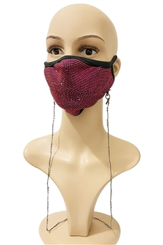 Beaded Mask Holder MN3068