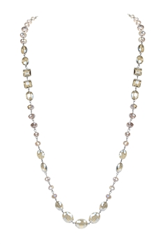 Crystal Long Necklaces N1130 - Champagne