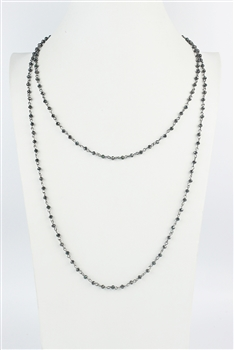 Latest Design Simple Style Long Chain Lovely Crystal bead Handmade Necklaces N1163-13