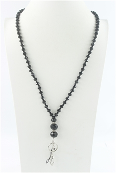 Lanyard Crystal Chain Necklaces N1492