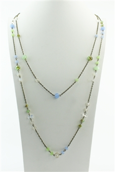 Long Crystal Necklaces N1557