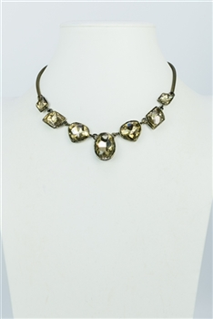 Short Crystal Necklaces N1734