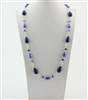 Crystal Long Necklaces N1781 - Blue