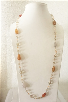 Long Crystal Necklaces N1782