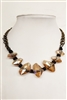 Crystal Chain Choker Necklace N1801
