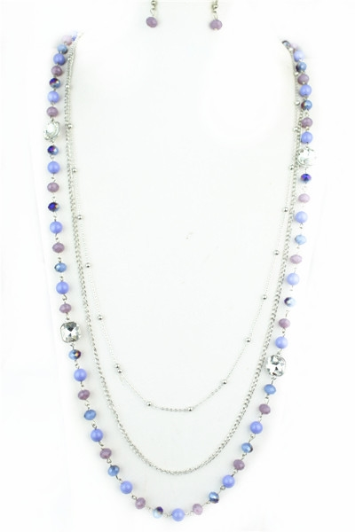Long Bead Necklace N1831