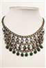Crystal Metal Necklace N1847