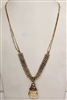 Crystal Long Metal Necklace N2024