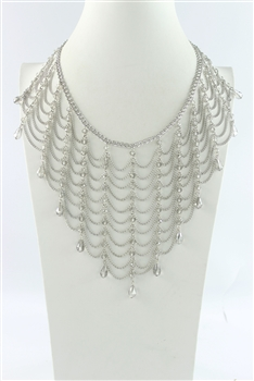 Bib Shape Necklaces  N2025