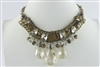 Crystal Necklaces N2032 - Champagne